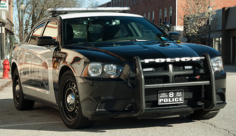 Port Jervis Police Department Dodge Charger