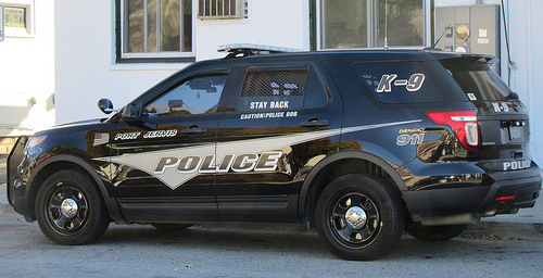 Port Jervis Police K9 Vehicle