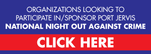 Sponsor Port Jervis National Night Out