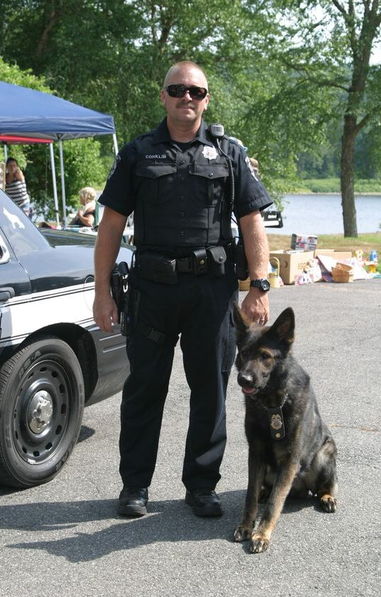 Officer Conklin and Mac