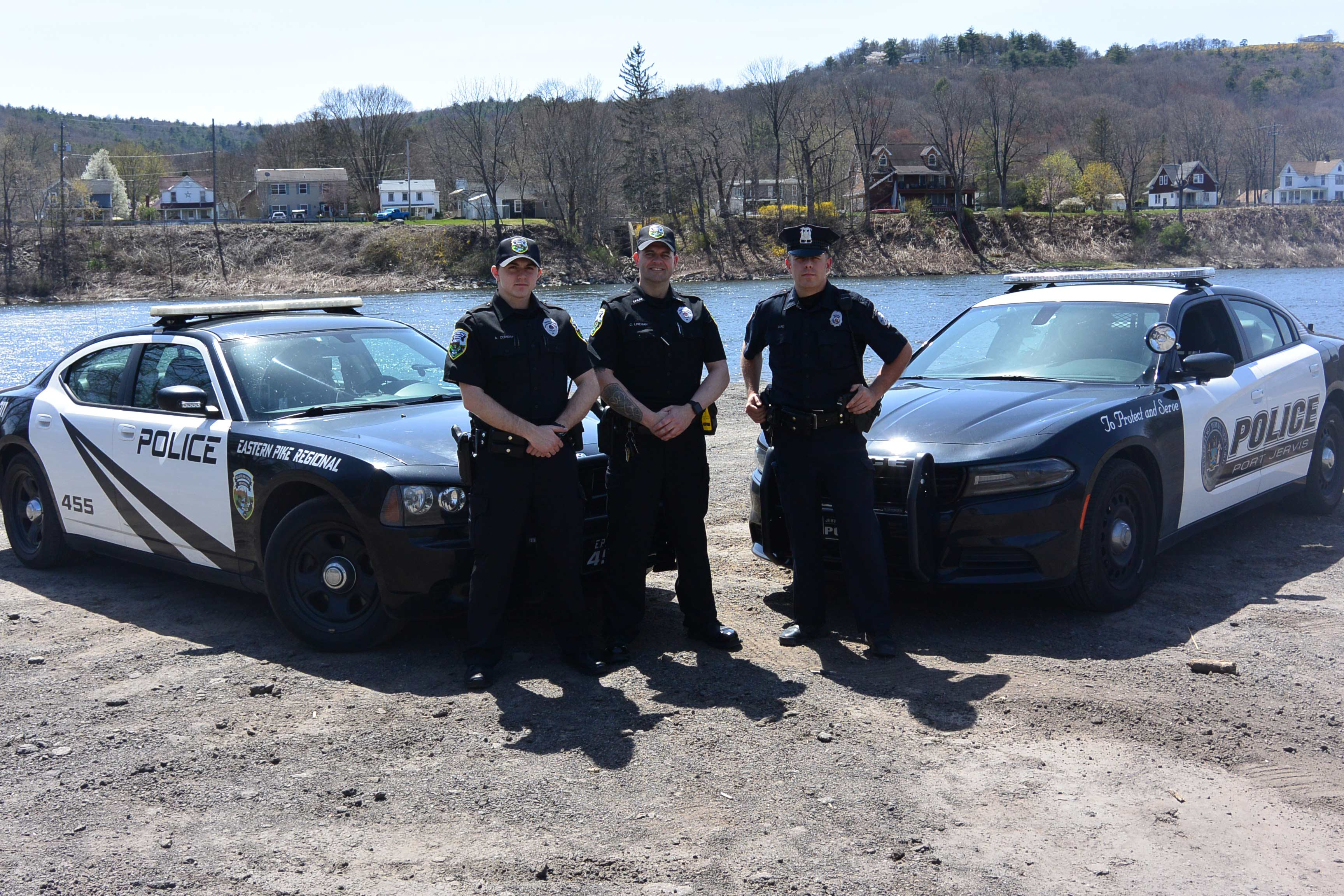 Police Officers and Cars
