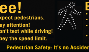 Pedestrians See and Be Seen