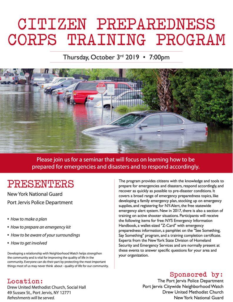 Disaster Preparedness Seminar